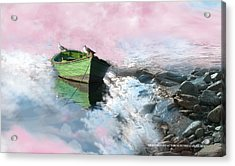 Acrylic Print featuring the photograph Pareja by Alfonso Garcia