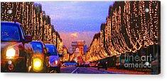 Paris 04 Acrylic Print by Yuriy  Shevchuk