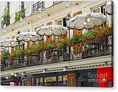 Paris Cafe Acrylic Print by Elena Elisseeva