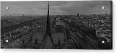 Paris Dh 1 Acrylic Print by Wessel Woortman