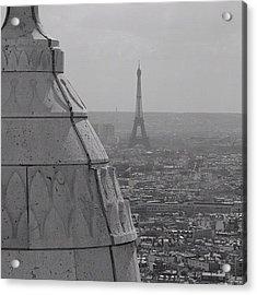 #paris #eiffel #tower #skyline Acrylic Print