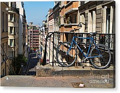 Paris Hill Acrylic Print by Kim Wilson