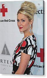 Paris Hilton At Arrivals For American Acrylic Print by Everett