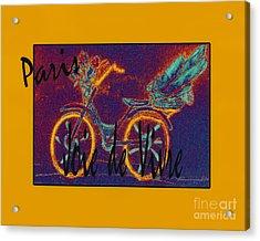 Acrylic Print featuring the photograph Paris  Joie De Vivre by Glenna McRae