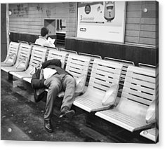 Acrylic Print featuring the photograph Paris Metro by Hugh Smith