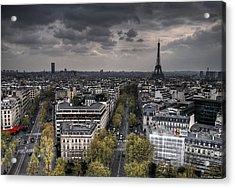 Paris No. 1 Acrylic Print by Ryan Wyckoff