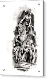 Paris Statuary Acrylic Print