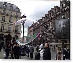 Paris Acrylic Print by Tore Solbakken