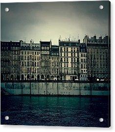 Parisian Architecture... Acrylic Print by Louise LeGresley