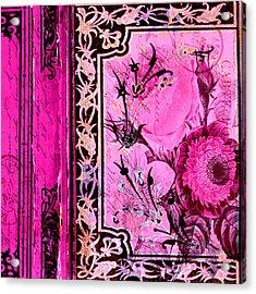 Parisian Memories Acrylic Print by Bonnie Bruno