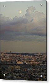 Parisian Moon Acrylic Print