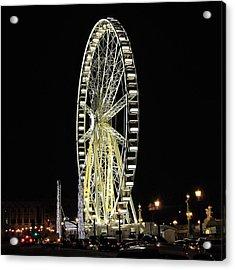 Parisian Night Acrylic Print