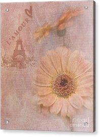 Parisian Oooo La La Acrylic Print by Betty LaRue