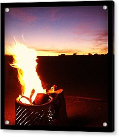#parker425 #off #offroad #road #fire Acrylic Print