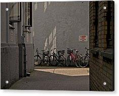 Parking In Rear Acrylic Print by Odd Jeppesen