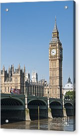 Acrylic Print featuring the photograph Parliament by Andrew  Michael