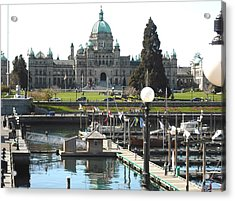 Parliament Inner Habrour Victoria Acrylic Print