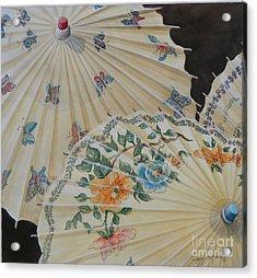 Parosol Parade Sold  Acrylic Print