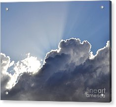 Partly Cloudy Acrylic Print