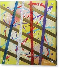 Party-stripes-1 Acrylic Print
