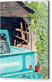 Pa's Truck Acrylic Print