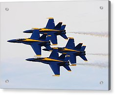 Pass Acrylic Print by Kevin Schrader