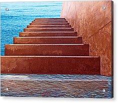 Passage To Atlantis Acrylic Print by David Rearwin