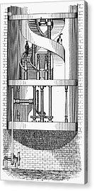 Passenger Elevator, 1876 Acrylic Print by Granger