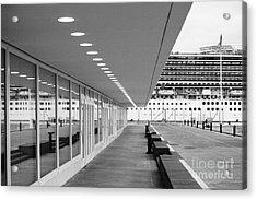 Passenger Terminal Acrylic Print by Gaspar Avila