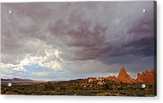 Passing Storm Acrylic Print by Adam Pender