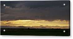 Acrylic Print featuring the photograph Passing Storm Clouds by Monte Stevens