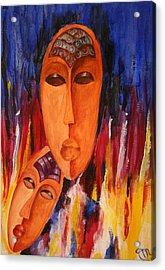 Passion 2007 Acrylic Print by Simona  Mereu