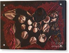 Passion Explosion II Acrylic Print by Tatjana Popovska
