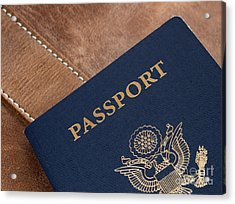 Passport Acrylic Print by Blink Images