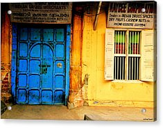 Past Office Hours Acrylic Print by Vinod Nair