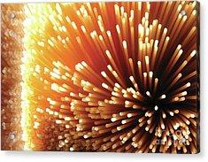 Pasta Illumination Acrylic Print