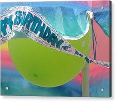 Pastel Celebration Acrylic Print