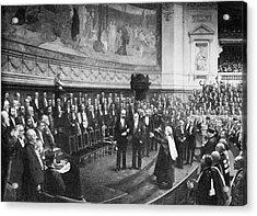 Pasteur's Jubilee Celebrations, 1892 Acrylic Print by