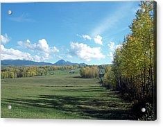 Pastoral Babine Range Panorama Acrylic Print