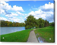 Acrylic Print featuring the photograph Path by Michael Frank Jr