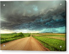 Path To Chaos Acrylic Print by Evan Ludes