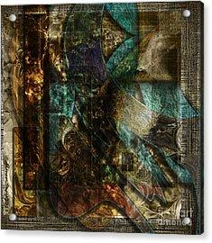 Pattern Down Acrylic Print by Monroe Snook