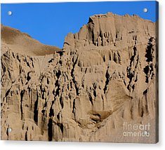 Patterns In The Sand No. 1 Acrylic Print by Smilin Eyes  Treasures