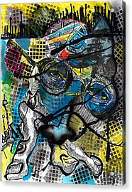 Patterns  Acrylic Print by Jon Baldwin  Art