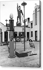 Paul Bunyan Atop Gas Station, Bemidji Acrylic Print by Everett