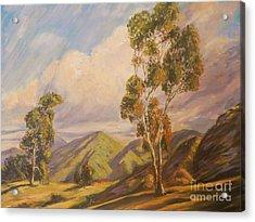 Paul Grimm California Impressionism Acrylic Print by Sunanda Chatterjee