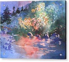 Payson Stream Acrylic Print