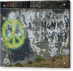 Peace 2012 #1 Acrylic Print by Todd Sherlock