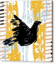 Peace Dove 1 Acrylic Print by Carol Leigh