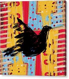 Peace Dove 3 Acrylic Print by Carol Leigh